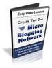 Thumbnail Create Micro Blogging Network using Wordpress