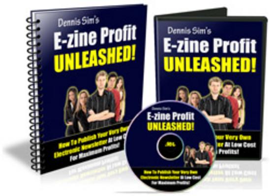 Product picture Ezine Profit Unleashed