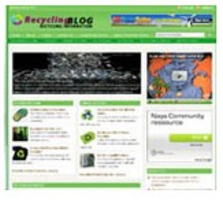 Product picture Recycling Blog Niche Site