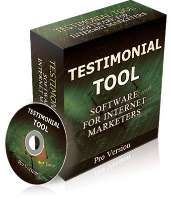 Product picture Testimonial Tool