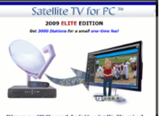 Product picture Satellite TV on PC