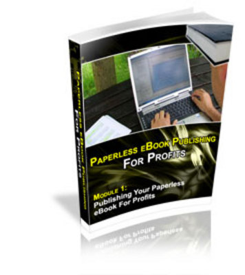 Product picture Paperless EBook Publishing For Profits.