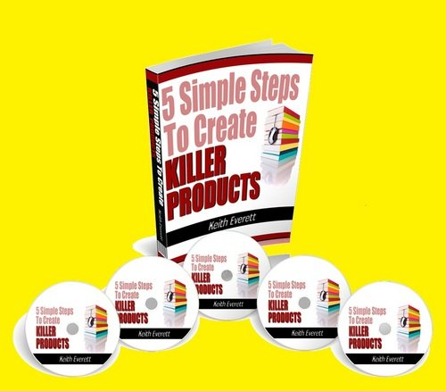 Product picture Create your digital product in 5 simple steps