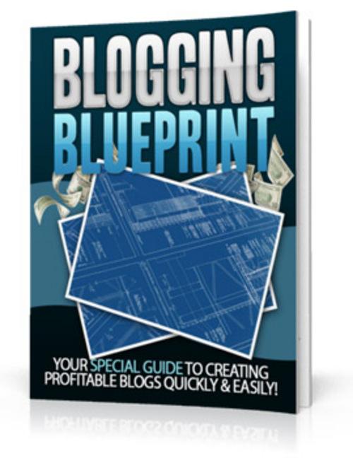 Product picture Blogging Blueprint PLR