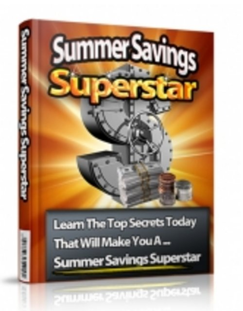 Product picture Summer Savings -PLR ebook-