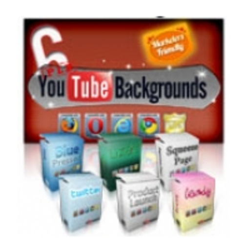 Product picture YouTube Backgrounds -PLR graphics-