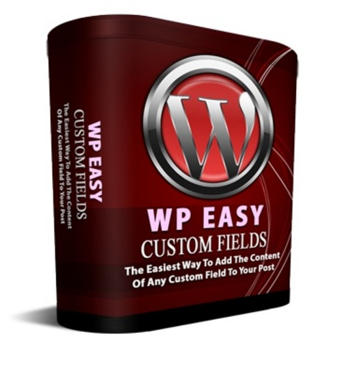 Product picture Wordpress Easy Custom Fields plugin