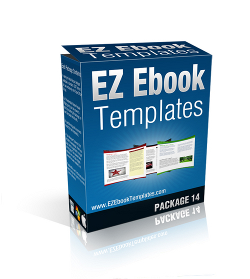 Product picture EZ ebook template combo ( packages 12,13,14)