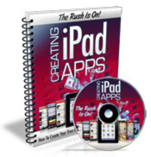 Product picture How to create ipad Apps