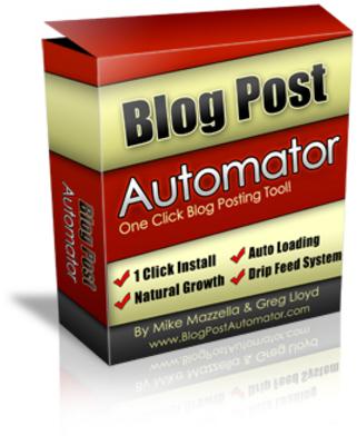Product picture Blog Post Automator + 2 Bonus