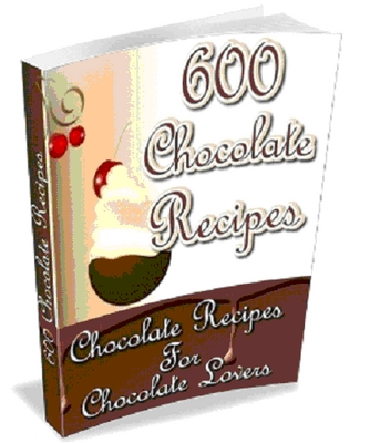 Product picture 600 Chocolate Recipes
